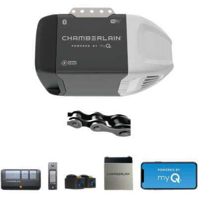 Chamberlain C273 1/2 HP Battery Backup Smart Chain Drive Garage Door Opener