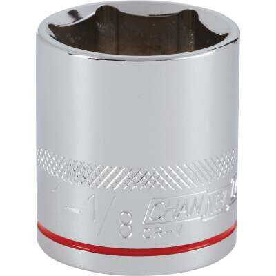 Channellock 1/2 In. Drive 1-1/8 In. 6-Point Shallow Standard Socket