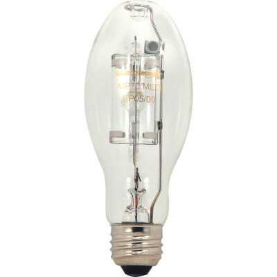 Satco 100W Clear ED17 Medium Metal Halide High-Intensity Light Bulb