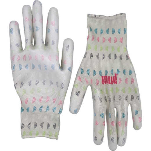 Mud Small/Med Geo Print Polyester Garden Gloves