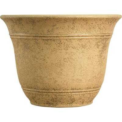 Listo Sierra 9.63 In. H. x 13 In. Dia. Arizona Sand Poly Flower Pot