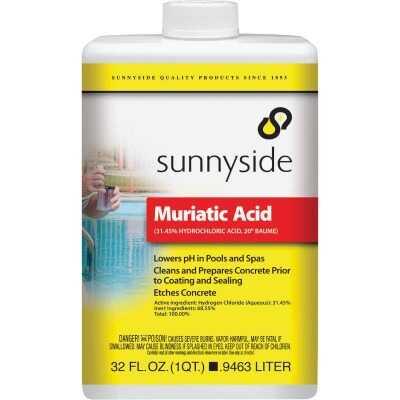 Sunnyside 32 Oz. Muriatic Acid