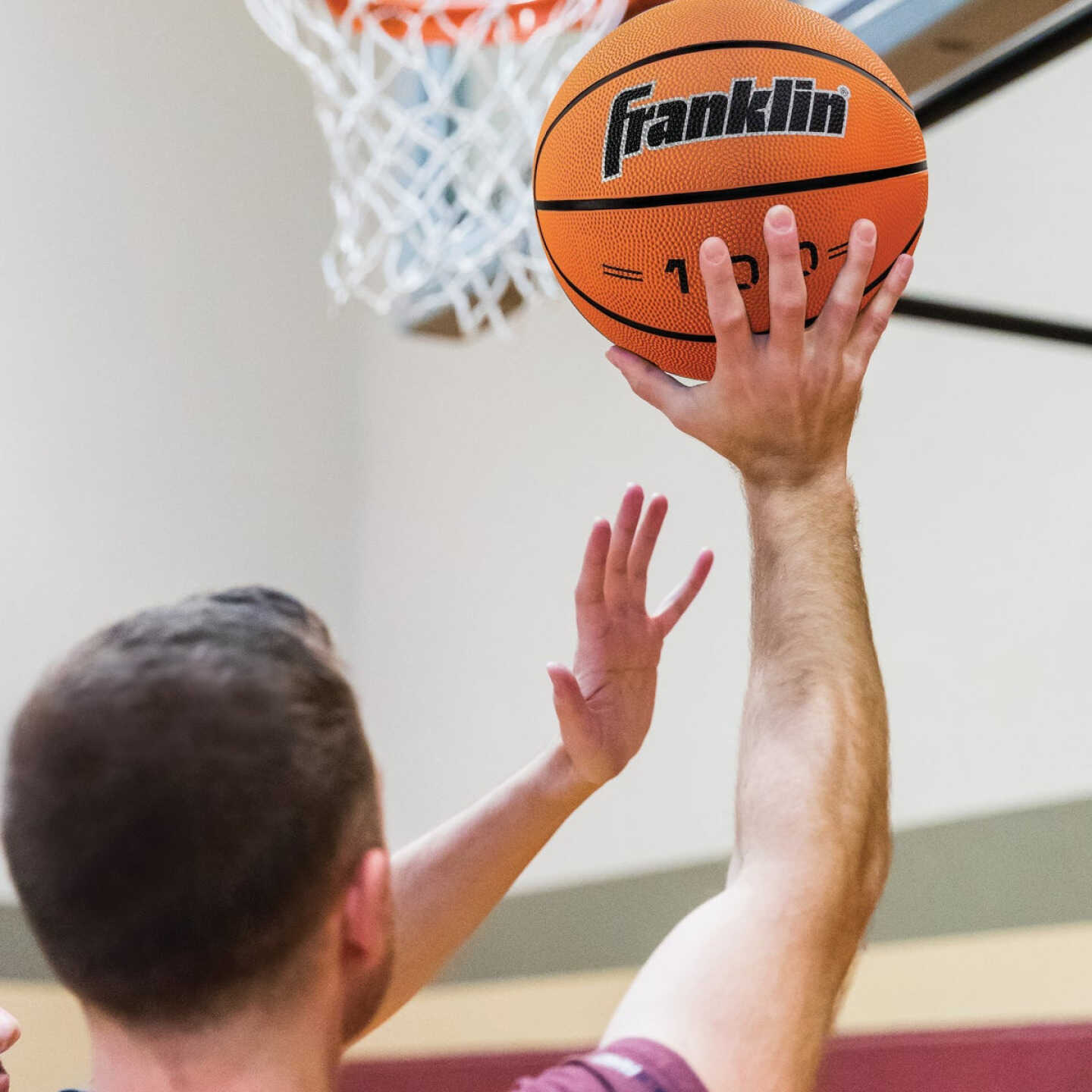 Franklin Grip-Rite Indoor/Outdoor Rubber Basketball, Official Size Image 2